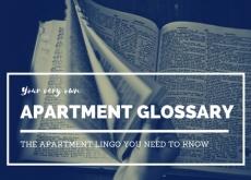 Apartment Glossary